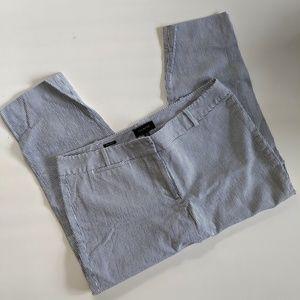 EUC Talbots Signature Seersucker Cropped Pants